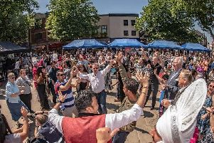 Preston Mela is a popular annual event which takes place on Preston's Flag Market