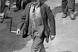The man believed to be the model for the Leyland Market statue