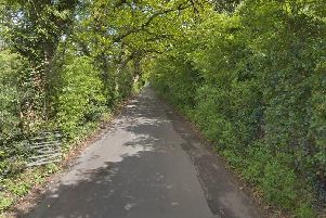 Nell Lane was deemed unsuitable for construction traffic by councillors (Google image)