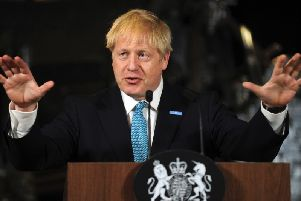 Prime Minister Boris Johnson said politicians had failed people in the North.