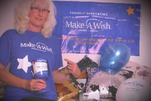 Lesley Whittaker is raising funds for Make A Wish