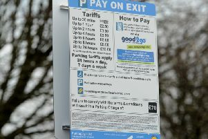 Campaigners are not happy with the cost of parking at Preston and Chorley hospitals