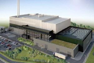 The proposed plant in Preston has a larger capacity than the one approved in Heysham (image: Miller Turner)