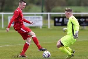Longridge Town striker Paul Turner