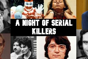 A Night of Serial Killers at Layton Club in May with Cheish Merryweather