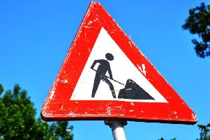 There are roadworks across the main roads this week