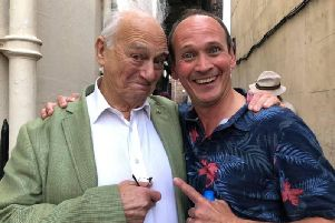 Roy Hudd and Steve Royle were due to appear together in the West End on April 27.