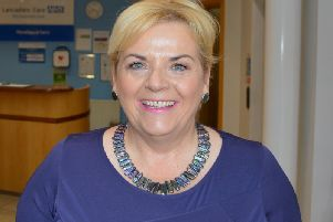 Maria Nelligan,  Executive Director of Nursing and Quality at Lancashire and South Cumbria NHS Trust,