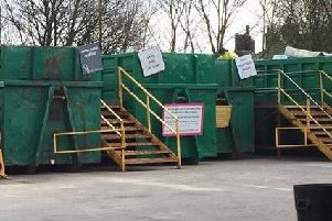 Lancashire's household waste and recycling centres have closed to the public