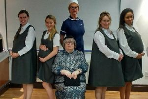 Poulton Dramas cast of Be My Baby