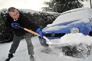 Many Britons  are still nervous about clearing snow for fear of getting punished