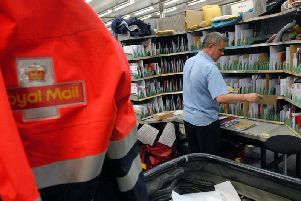 Anyone who wants to send letters and parcels by second class needs to get to the Post Office byWednesday December, 20 to ensure delivery in time for Christmas day.