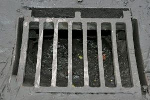 A ladies thong found blocking one of the sewers inMerseyside. It caused so much damage that the sewer actually collapsed.