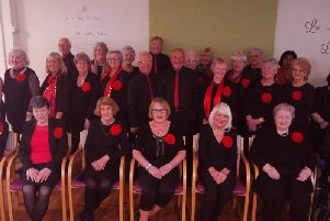 Members of the Revoe-Lution choir