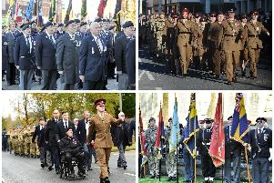 Remembrance parades around Lancashire