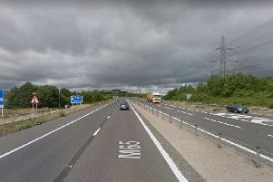 Junction 4 on the M65