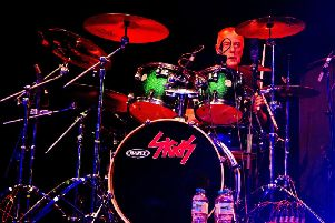 Mike Baillie, drummer with The Skids, who are on a joint tour with 80s Scot-rock legends Big Country