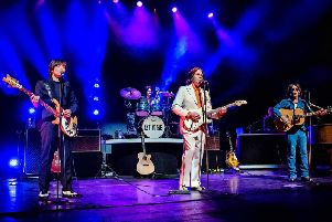 Let It Be, pictured here during its UK tour last year, is set to return