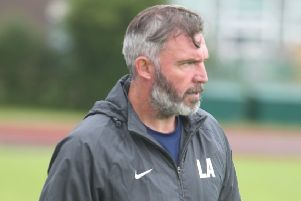 Lee Ashcroft and his Longridge Town players are back in action on Saturday