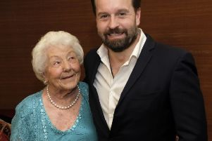 Nora Walker with Alfie Boe
