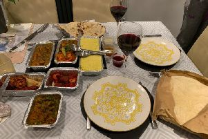 Amonbagh Indian Restaurant in Fulwood, Preston offers quite the gourmet banquet for two