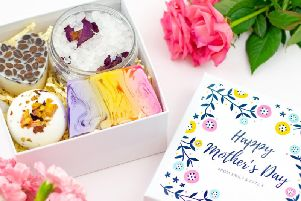 Personalised Mother's Day Pamper Set, 29.99, available from Etsy