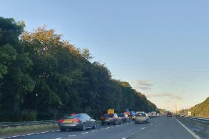 Overnight closures are coming to the M55 from Wednesday, October 9