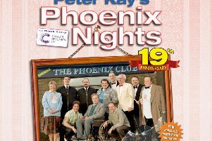 Join Brian Potter, Jerry the saint St Clair, Les Alanos, Max andPaddy and all the gang for special screening of Phoenix Nights at the Opera House in February 2019.