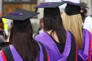 Department for Education data shows 1,317 students who finished their 16 to 18 study in Lancashire in 2015-16 secured a spot at an university within two years
