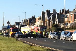 A man in his 60s and a female in their 20s were involved in the crash. (Credit: Emma Cousin)