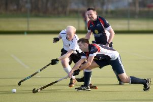 Tom Evans in action for Lytham St Annes against Keswick  Picture: DANIEL MARTINO