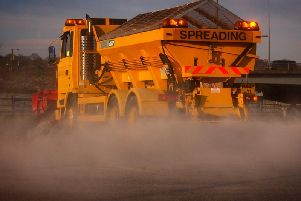 Gritters will be out in Lancashire tonight