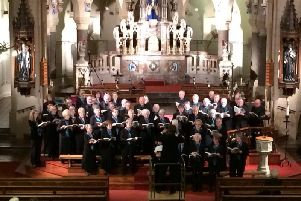 The Lidun Singers performing at Brownedge St Mary's Church in Bamber Bridge for the Christmas concert