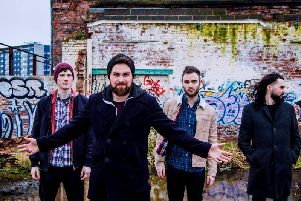 Preston rock band Building Giants took to the road for a mini tour for Independent Venue Week 2018