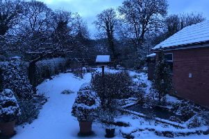 Rob Randell captured snowy scenes in Penwortham