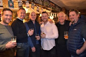 Steven Croft and guests enjoy a taste of Crofty's at The Taps