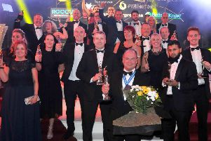 All the winners from the BIBAs ceremony