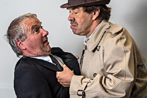 A scene from Fylde Coast Players Loot