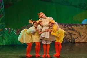 A previous Northern Ballet children's show, Ugly Ducking