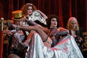 Stars of the Rocky Horror Picture Show - which has a Sing-a-Long-a version on in Blackpool this weekend