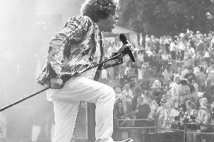 Leo Sayer who will be performing at Lowther Pavilion next year.