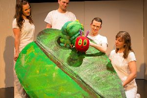 The Very Hungry Caterpillar stage show will munch its way into Blackpool