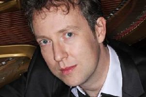 Pianist Sam Haywood