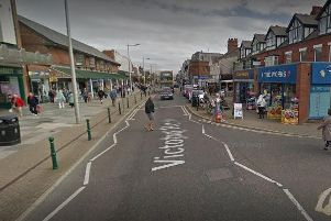 Linda McIntyre is alleged to have followed the 70-year-old woman to her car in Cleveleys before attacking her and grabbing her purse