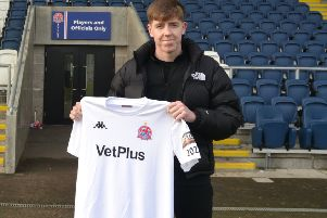 Tom Crawford arrives at Fylde for the remainder of the season   '''          Picture: AFC FYLDE