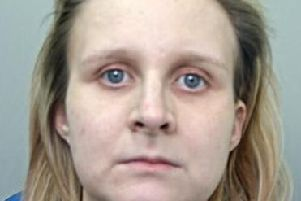 Rachel Tunstill, 28, who has been found guilty of the murder of her newborn daughter following a retrial. Ms Tunstill stabbed Mia Kelly to death with a pair of scissors in the bathroom of her home in Burnley in January 2017