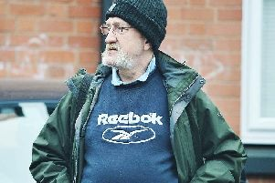 Ian Simms out and about on the streets of Birmingham
