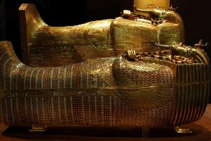 Tutankhamun, his tomb and his treasures, at the Museum of Museums, Manchester, 2010