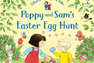 Hunt the Easter eggs with Poppy and Sam