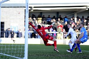 James Hardy confirmed his exit from AFC Fylde on social media Picture: STEVE MCLELLAN